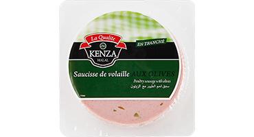 Saucisse de Volaille Olives 200g