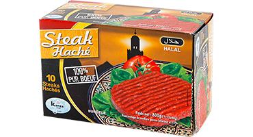 Steak Haché 100% Pur Boeuf 10x80g
