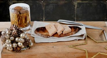 Toast Gourmand Au Foie Gras